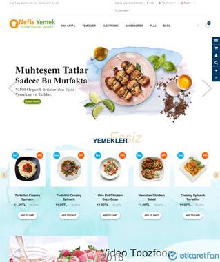 Lokanta ve pastanelere özel online mağaza
